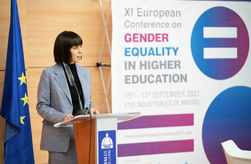 La ministra Morant presenta una nueva convocatoria con 5 millones para apoyar a mujeres innovadoras